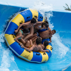 <p>Splashy rides await leeward visitors at Wet 'n' Wild Hawaii. // © 2016 Wet 'n' Wild Hawaii</p><p>Feature image (above): Ko Olina is the home of the...