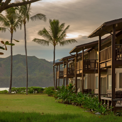 <p>Clients enjoy bargain rates and Kauai adventures as part of Hanalei Colony Resort's fall renovation package. // © 2016 Hanalei Colony...