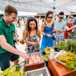 <p>This year's Hawaii Food & Wine Festival features new surprises for attendees. // © 2017 Hawaii Food & Wine Festival</p><p>Feature image...