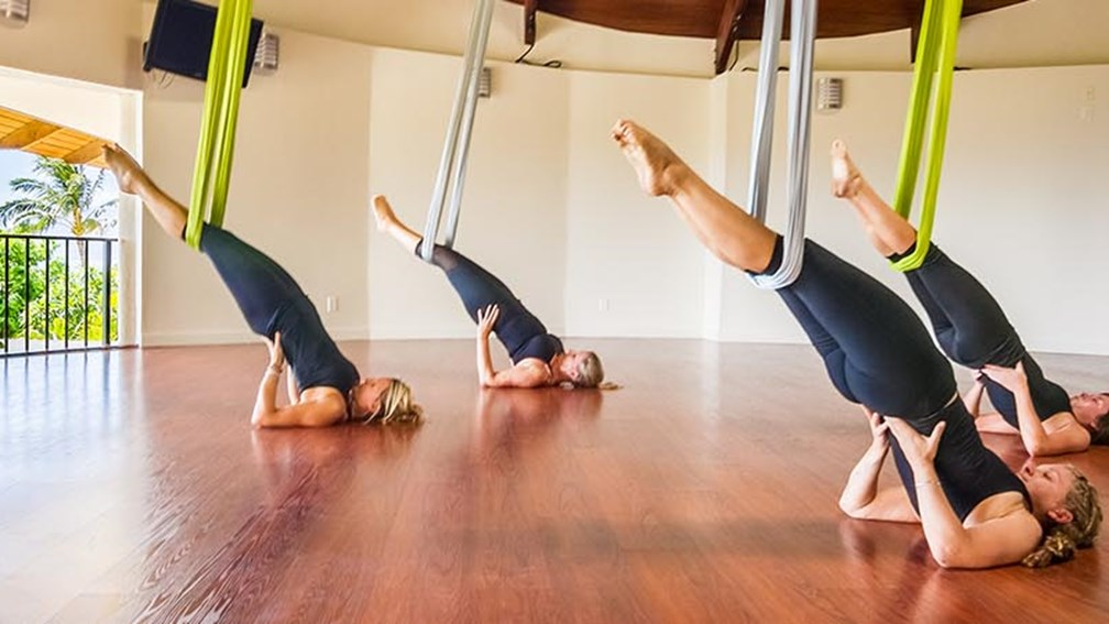 How to Try Aerial Yoga on Maui