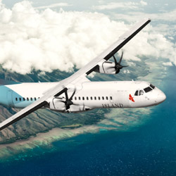 <p>Island Air runs 250 weekly flights between four islands. // © 2015 Island Air</p><p>Feature image (above): Ohana by Hawaiian's fleet features a...