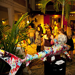 <p>Food, drinks and music bring exhibits to life during ARTafterDARK, a hip monthly event at Honolulu Museum of Art. // © 2014 Honolulu Museum of...