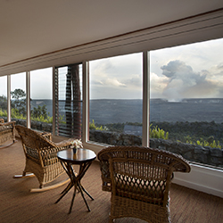 <p>Volcano House, located on Hawaii Island, is a member of Aqua-Aston Hospitality's new Instinct brand of boutique properties. // © 2015 Aqua-Aston...