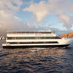 <p>The spacious new Majestic provides a yacht-like ambience during sunset and special-event cruises. // © 2016 Atlantis Cruises</p><p>Feature image...