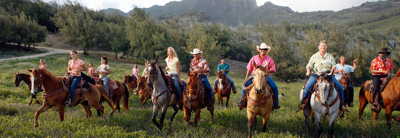 Have a Horseback Riding Adventure on Kauai