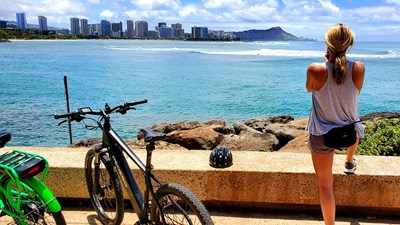 E-Bike Across Oahu With Pedego Waikiki