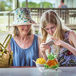 <p>Tasting Kauai's intimate food tours bring clients up close to island foods and where they come from. // © 2016 Pono Photo/Daniel Lane</p><p>Feature...