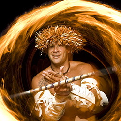 <p>A fire knife dance ends the Sheraton Kona luau experience in dazzling fashion. // © 2016 Island Breeze Productions</p><p>Feature image (above):...