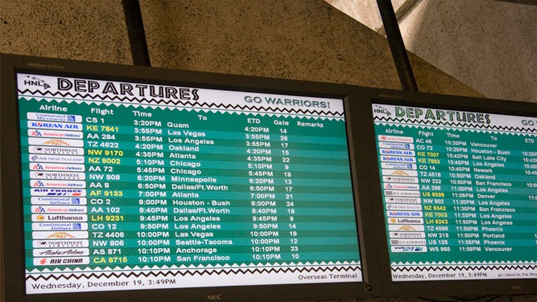 New signs, both inside and out, are helping clients navigate HNL more easily.