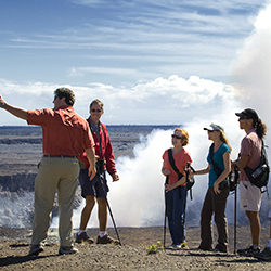 <p>Hawaii Forest & Trail explores Hawaii Island's dramatic landscapes in sustainable fashion. // © 2015 Hawaii Forest & Trail</p><p>Feature...