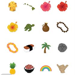 <p>Locomoji add a fun and sociable touch to the GoHawaii app. // © 2016 Hawaii Tourism Authority</p><p>Feature image (above): The GoHawaii app...