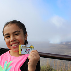 <p>With the Every Kid in a Park pass, fourth graders and their families get free admission to Hawaii Volcanoes National Park. // © 2017 NPS Photo/J....