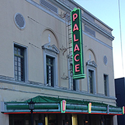 <p>Open since 1925 in Hilo, the renovated Palace Theater still entertains Hawaii Island crowds with movies and live shows. // © 2015 Marty...