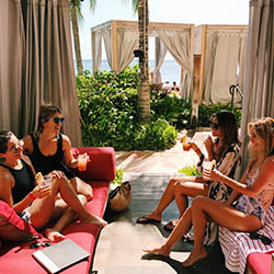 <p>At Sheraton Waikiki, the private cabanas at RumFire lounge help clients spend quality time together. // © 2017 Sheraton Waikiki</p><p>Feature image...