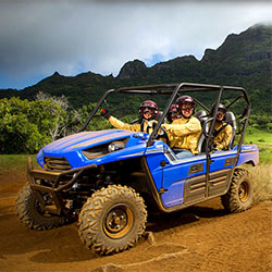 <p>Clients can explore Kauai's 3,000-acre Kipu Ranch during thrilling ATV tours. // © 2015 Kiputours.com</p><p>Feature image (above): Hawaii's...