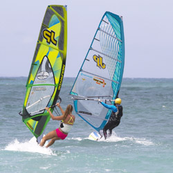 <p>Clients can live out their windsurfing fantasies during one of Four Seasons' Unforgettable Events. // © 2014 Four Seasons Resort Maui at...