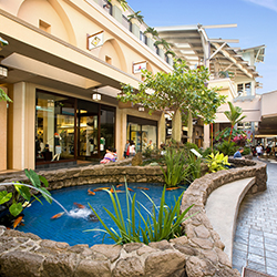 <p>Plantation-style architecture adds a sense of place to Shops at Kukuiula, in Kauai's sunny Poipu region. // © 2014 Shops at Kukuiula</p><p>Feature...