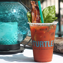 <p>Bacon Basil Bloody Mary // © 2015 Turtle Bay Resort</p><p>Feature image (above): Chocolate Relapse // © 2015 Hyatt Regency Maui Resort and Spa</p>