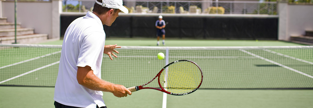 In the Swing With Hawaii Tennis Resorts