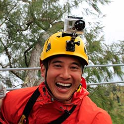 <p>A GoPro add-on gives clients you-are-there photos and videos of their zipline tour. // © 2017 Kohala Zipline</p><p>Feature image (above): Visitors...