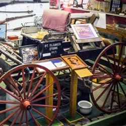 <p>Hawaii Plantation Museum's charming memorabilia include a turn-of-the-century wagon used by businessman Pete Beamer to peddle his wares. // © 2017...
