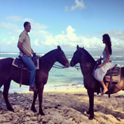 Equus Hotel's romance package includes a north shore Oahu trail ride for two. // © 2012  Mariah Dailey