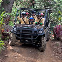 <p>All ages can take part in a UTV tour with Kipu Ranch Adventures. // © 2016 Kipu Ranch Adventures</p><p>Feature image (above):  Kipu Ranch...