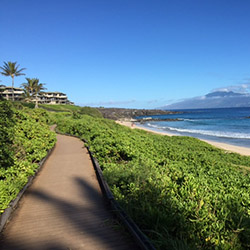 <p>Kapalua Coastline Trail hugs Maui's northwest coastline. // © 2016 morganhikinginhawaii.blogspot.com</p><p>Feature image (above): Pipiwai Trail...