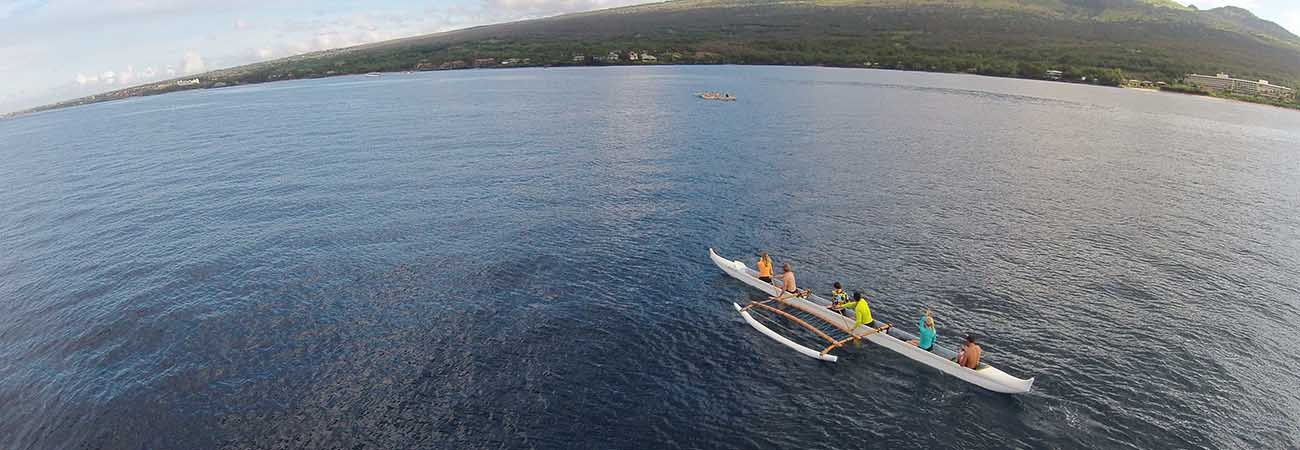 How to Whale Watch by Outrigger Canoe