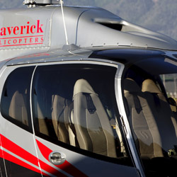 <p>Maverick Helicopters' aircraft feature generous windows and comfy leather seats. // © 2015 Maverick Helicopters</p><p>Feature image (above): New...