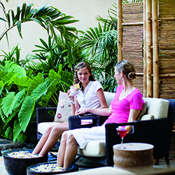 <p>Moms and daughters soak up the good life at Maui's spas. // © 2014 Troy House/The Ritz-Carlton, Kapalua</p><p>Feature image (above): Whalers...
