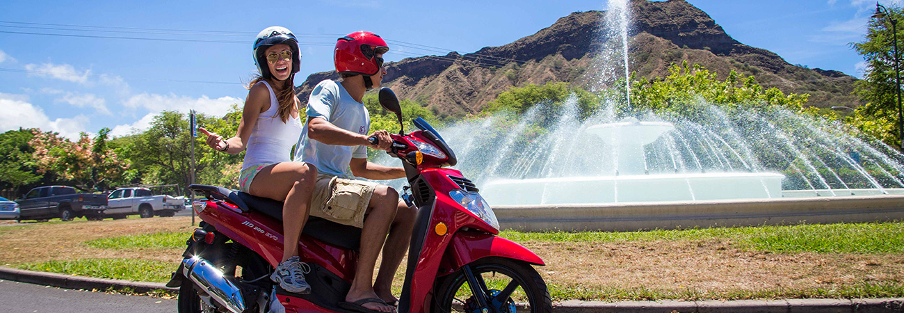 Touring Oahu on Two Wheels