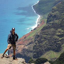 <p>Kauai Hiking Tours founder Jeremiah Felsen helps clients learn how to respect the island's sacred places while appreciating its natural beauty. //...