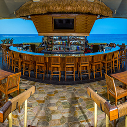 <p>The open-air Don's Mai Tai Bar makes the most of Royal Kona Resort's seaside site.  // © 2015 Royal Kona Resort</p><p>Feature image (above): Royal...