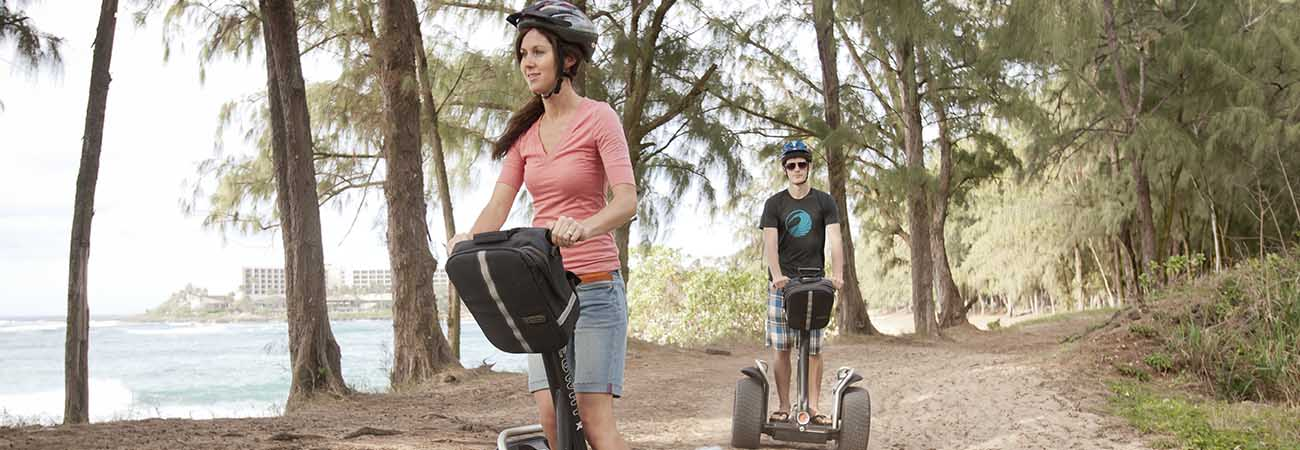 Glide Along Oahu's North Shore by Segway