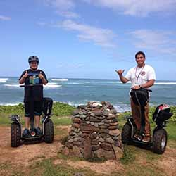 <p>The off-road Segway tour includes time for photo ops amid spectacular scenery. // © 2015 Marty Wentzel</p><p>Feature image (above): Turtle Bay...
