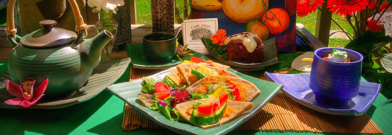 4 Vegetarian Restaurants on Hawaii Island