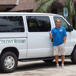 Hanalei Colony Resort now offers shuttle service around Kauai's north shore. // © 2013 Hanalei Colony Resort