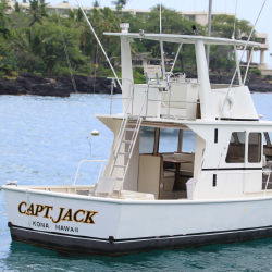 The 43-foot Captain Jack present charter fishing excursions with rates from $109 per person for a shared half-day to $900 for a full day. // © 2013...