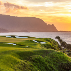 The Princeville Makai Course at the St. Regis Princeville Resort // © 2014 Princeville Makai Golf Club
