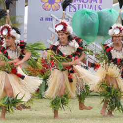 Tahitian dance takes center stage at the annual Heiva I Kauai. // © 2014 Mike Teryu