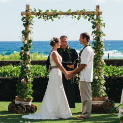 The new wedding lawn at Poipu Kapili resort // © 2014 Megan Stay/Meg Ruth Photography