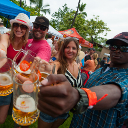 Beer lovers unite at the Kona Brewers Festival on Hawaii Island. // © 2015 Bryan Appelt