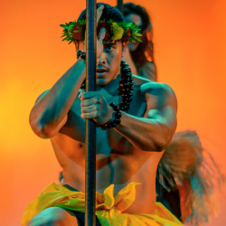 "Dancers in ""Myth, Hidden Legends of Old Hawaii"" // © 2015 Mayberry Multimedia"