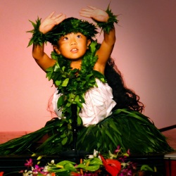 Hula O Na Keiki, an annual children's dance competition, proves you're never too young to dance the hula. // © 2015 Kaanapali Beach Hotel