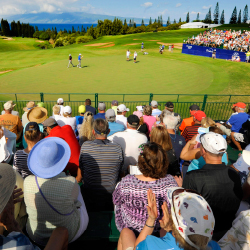 See the pros in person at the Tournament of Champions at Kapalua Resort's Plantation Course on Maui. // © 2016 Getty Images