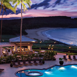 Four Seasons Resort Lanai at Manele Bay will welcome guests during the Lodge at Koele's closure. // © 2014 Four Seasons Hotels and Resorts