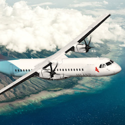Island Air flies between Oahu, Maui, Kauai and Lanai. // © 2014 Island Air