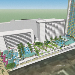 <p>The renovation of Outrigger Reef on the Beach will result in more rooms with sweeping ocean views. // © 2014 Outrigger Enterprises...