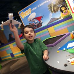 Bishop Museum hosts the Lego Travel Adventure exhibit through Jan. 5. // © Children's Museum of Indianapolis